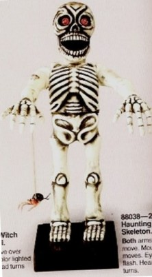"""Haunting Skeleton"" (1988 Telco Catalog Image)"