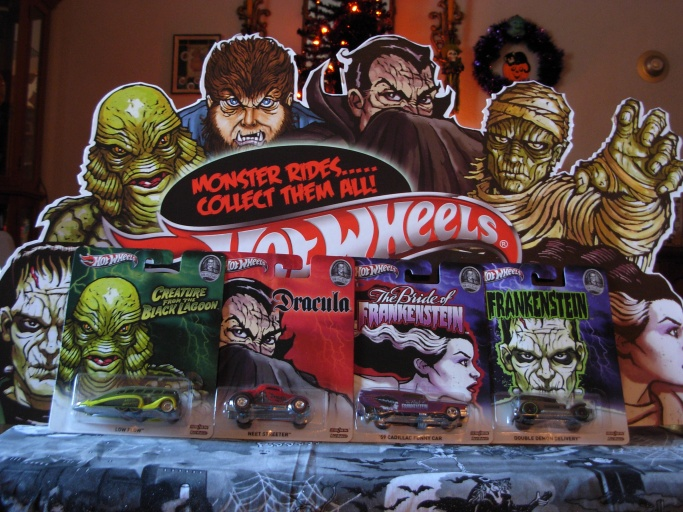 Universal Monsters Hot Wheels